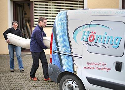 Teppichreinigung Höning Müllheim